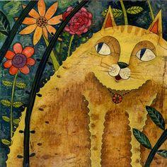 Yellow Cat by Yossaya Aisiri
