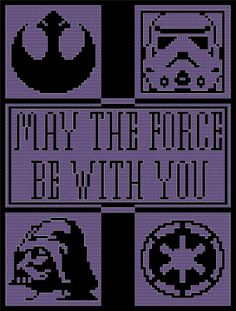If you or someone you love is a major fan of Star Wars and would love a one-of-a-kind item for that special occasion, then why not crochet this magnificent afghan pattern? You could also make this as a motif (via the use of Cross Stitch) for something smaller.