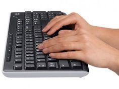 Teclado Multimídia USB - Logitech K270 com as melhores condições você encontra no Magazine Voceflavio. Confira!