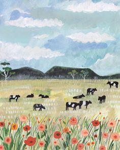 Travel illustration by Miranda Sofroniou