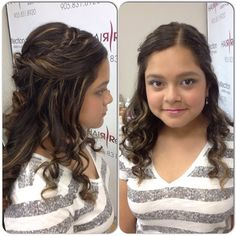 This #gorgeous girl is ready for her grade 8 #graduation! #hair & #makeup done by Jules! #mirabellabeauty #mineralmakeup #updo #hairreflection #pickering