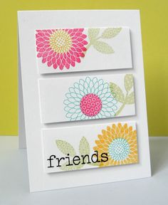 simple Friends card
