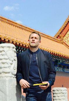 Charlie Hunnam • Beijing 2017