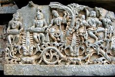 Unknown Ancient Historical Tourist Destinations in India: Halebidu, Beautifully Carved Hoysaleswara Temple in Karnataka Indian Architecture, Ancient Architecture, Temple Architecture, Sculpture Art, Sculptures, Indian Musical Instruments, Ajanta Caves, Hindu Statues, Apocalypse Art