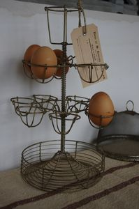 egg holder...I collect these but haven't seen one like this. I will be on the look out for one.