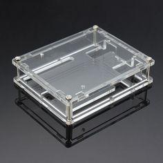 Transparent Acrylic Shell Box For Arduino UNO R3 Module Board