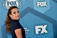 Actress Lea Michele attends FOX 2016 Upfront at Wollman Rink on May 16, 2016 in New York City.