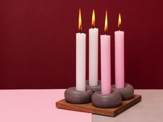 %concrete design% by %AB concrete design Concrete Design, Cool Backgrounds, Scandinavian Style, Tea Lights, Centerpieces, Candle Holders, Shapes, Candles, Colour