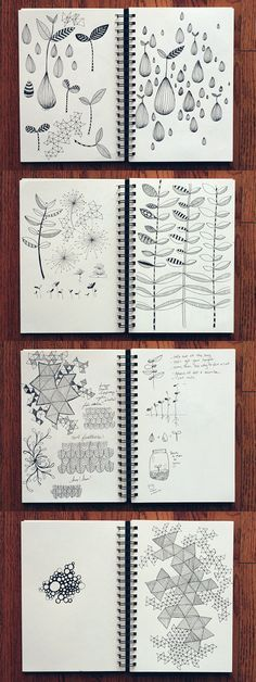 various sketchbook practice ideas; nice blog; direct link: http://witandwhistle.com/2011/11/18/sketchbook-11-18-11/