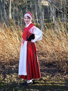 Folk Costume, Costumes, Traditional, Clothes For Women, Female, Regional, Finland, Beauty, Collection