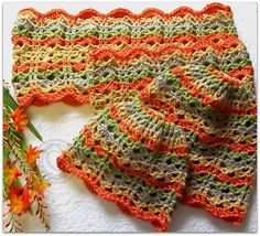 Ravelry: Mother and Daughter Autumn Cowl and Hat pattern by ag handmades