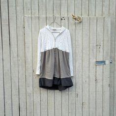 medium  xlarge  Urban Chic Hoodie Sweater Dress / by CreoleSha, $72.99