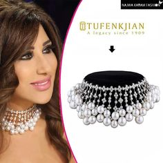 @najwakaram completed her extravagant look in the 3rd live episode of Arab's Got Talent S5 wearing a Royal Diamond-Pearl Choker from @tufenkjian  #NajwaKaramFashion™ #NajwaKaramFashion #NKF #NKF™ #NajwaKaram #StyledByCed  #pearl #diamond #tufenkjian #instagood #choker #fashionista #instagram #instacollage #Jewelry #نجوى_كرم #Lebanon #fashiongram #celebrity #arab #smile #fashionstyle #fashionaddict #Beirut #photooftheday #2017 http://tipsrazzi.com/ipost/1505180141953205347/?code=BTjeV1EF8Rj