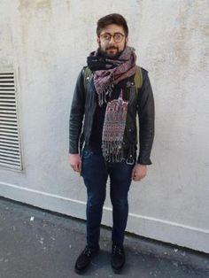 Looks de rentrée des étudiants de la Sorbonne Nouvelle - Kévin, 20 ans, étudiant en théâtre