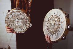 DIY Festival Henna Tambourines - Free People Blog