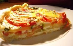 Quiche légère provençale WW - Food and Drinks Ww Recipes, Light Recipes, Low Carb Recipes, Crockpot Recipes, Healthy Recipes, Quiches, Weigh Watchers, Batch Cooking, Breakfast For Dinner