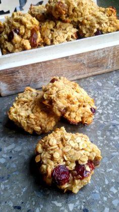 Ciasteczka owsiane z jabłkiem - Całkiem Zdrowo