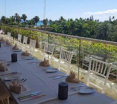 Receptions at #Waiolu include distinctive cuisine, exceptional service, and incredible views.  #WeddingWednesday #TrumpWaikiki #Waikiki #Hawaii #Wedding #Reception #Bride #WeddingPlanning #Venue
