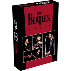 Beatles Singles Playing Cards: A very collectible deck of 52 separate images of rare art from The Beatles and their many Singles released around the world are depicted in this casino quality deck. Fun for all ages.  Our Price $5.99   http://www.calendars.com/Beatles/Beatles-Singles-Playing-Cards/prod201100009918/?categoryId=cat00083=cat00083#