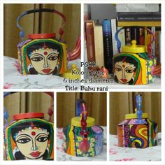 SOLD Give Bahu Rani the pride of place on your tea table and you'll never want for chai-time conversation again! Show off your very own Bahu Rani kettle, the first from our upcoming Bahu Rani collection.
