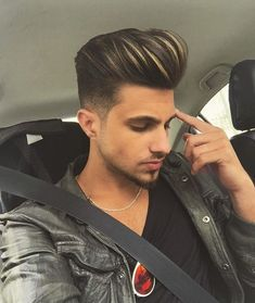 nice 25 Excellent Ideas for Pompadour Fade - In Mood For the Change Check more at http://machohairstyles.com/best-pompadour-fade/