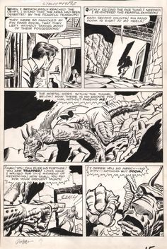 A page from STRANGE TALES #89 by Jack Kirby and Dick Ayers.