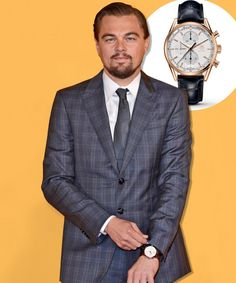 See the timepieces of choice for Leonardo DiCaprio, George Clooney, Emily Blunt and more; Leonardo DiCaprio wears Tag Heuer.