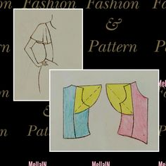 Sleeves Designs For Dresses, Sleeve Designs, Pola Lengan, Renaissance Fair, Pattern Drafting, Dress Sewing Patterns, Sewing Techniques, Pattern Fashion, Pattern Design