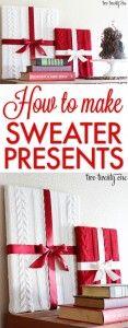Sweater Presents {DIY}