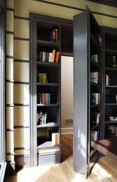 A Cool Bookshelf Doorway - Imgur