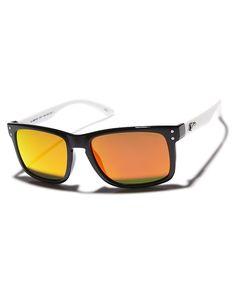 29440a27eea Liive Vision Cheap Thrill- Revo Sunglasses Black White Mens sunglasses Size