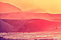 Sunset barrels