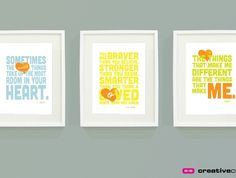A.A. Milne Quotes Set of 3 - Printable Kids Bedroom Art