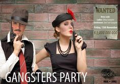 Gangsters party