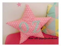 Star pillow Christening Decorations, Dinosaur Stuffed Animal, Star, Pillows, Toys, Handmade, Activity Toys, Hand Made, Baptism Decorations