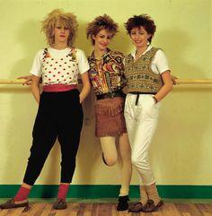 Bananarama early 80s, 80s fashion