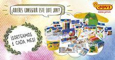 ¡Gana cada mes un fantástico lote de productos JOVI!
