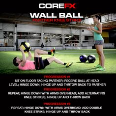 Try out the Partner Knee Strike with the #COREFX Wall Ball! http://vimeo.com/111049980 #fitness #motivation #exercise #training #workhard #goals #lifestyle #makeithappen #fitfam #healthytalk #success #getfit #gethealthy #healthychoice #youcandoit