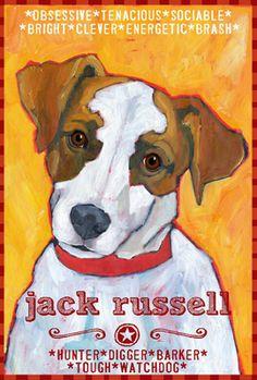 Jack Russell II Magnet  http://www.ursuladodge.com