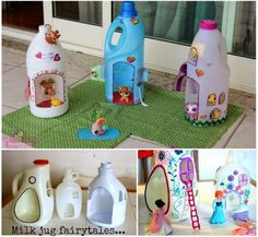 How to make a bottle doll house diy diy crafts do it yourself diy projects bottle doll house doll house