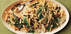 Gemelli Salad with Green Beans, Pistachios, and Lemon-Thyme Vinaigrette | CookingLight.com
