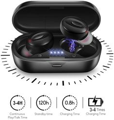 With Mic TWS Earphones Wireless Headphones Bluetooth Earbuds mW Sports Headphones, Bluetooth Headphones, In Ear Headphones, Oreillette Bluetooth, Wireless Headset, Cable Audio, Hifi Stereo, E 10, Android