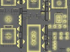 Interior Design Presentation, Interior Design Tips, Design Ideas, Cove Lighting, Interior Lighting, Light Architecture, Interior Architecture, Sketches Arquitectura, Blitz Design