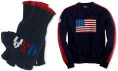 "Ralph Lauren's ""Made In USA"" Sochi Winter Olympics Team USA Uniforms"