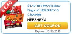 Printable coupons: Capri Sun, Hershey's, Campbell's, Crayola, plus more