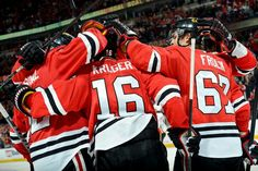 Chicago Blackhawks - Group Cele for the 4th Line