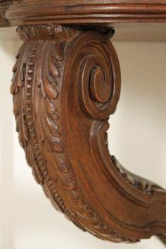 Consolle in stile neoclassico - gamba