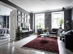 bohemian artist home scandinavian apartment