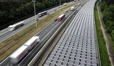 Europe's first ever solar-powered train is being launched in Belgium.  The energy comes from 16,000 solar panels, installed on the roof of a rail tunnel running along an Antwerp motorway.  The panels produce enough electricity to power all of Belgium's trains for one day per year.  A joint public-private partnership, the project is partly financed by Belgium's rail network manager and is expected to prevent considerable carbon dioxide emissions.