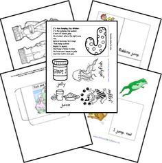 Preschool letter printables
